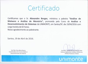 Unimonte_Certificate